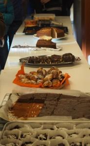 Des gâteaux pour l'ARFEC